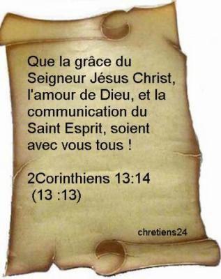 Corinthiens 13-14
